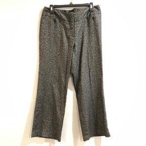 Apt 9 Curvy Fit Black Gray Herringbone Dress Pants